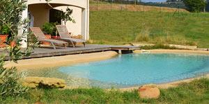 Piscine naturelle et cologique jardin aquatique tang - Camping a valras plage avec piscine ...